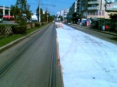 Geotextil pentru reducerea presiunii intre asfalt BONARPAVE